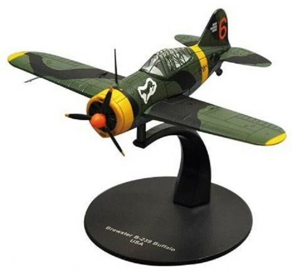LG27 1/72 Scale Bewster B-239 Buffalo Fighter USA American Air Forc World War II